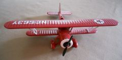 Ertl Texaco Collectable 1931 Stearman Biplane Bank