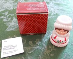 Avon 1981 Christmas Charmer Candlestick Decanter