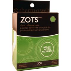 Zots Medium Clear Adhesive Dots