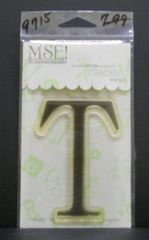 MSE-Classic Upper Monogram Stamp Letter T
