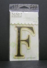 MSE-Classic Upper Monogram Stamp Letter F