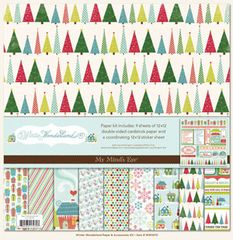 Winter Wonderland My Mind's Eye Paper Kit