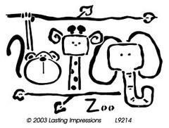 Lasting Impressions L9214-Zoo