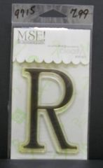 MSE-Classic Upper Monogram Stamp Letter R