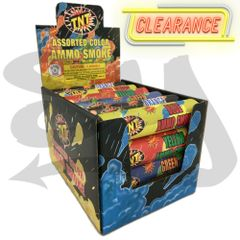[CLEARANCE] TNT Assorted Color Ammo Smoke Bomb Fountain Sticks [2018 EDITION]