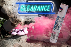 [CLEARANCE] Gender Reveal Smoke Bombs, Blue & Pink
