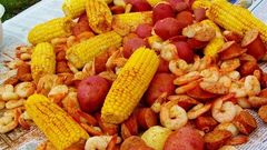 Low Country Boil for 4 Private Class