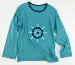 boys long sleeve captains wheel t