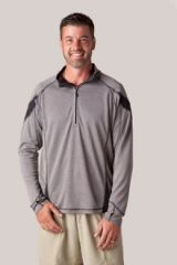 mens bamboo 1/4 Zip by Storm Creek