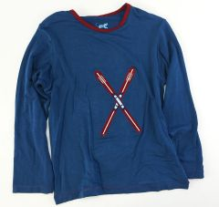 boys long sleeve skis t