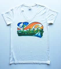 "Women's Outdoor Panda full color ""Seattle"" T"