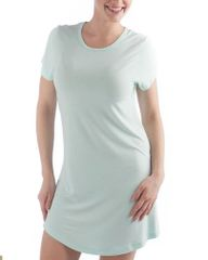 Women's short sleeve bamboo night shirt by yala