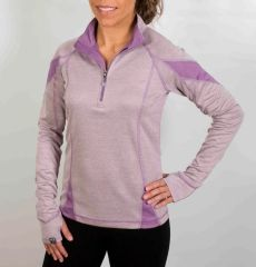 Women's bamboo 1/4 Zip by Storm Creek