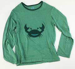 boys long sleeve crab t (size 8)