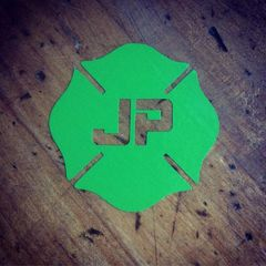 JP Maltese Cross Decal