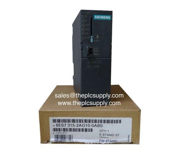 6ES7 315 2AG10 0AB0 Siemens CPU315 2 Simatic S7 300