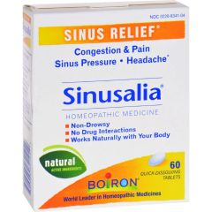 Boiron Sinusalia Sinus Pain - 60 Tablets