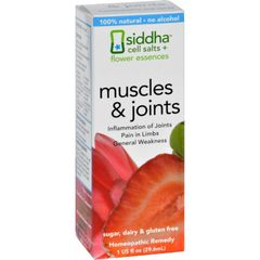 Siddha Flower Essences Muscles and Joints - 1 fl oz