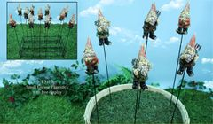 Small Gnome Plantsticks (24 PC SET)