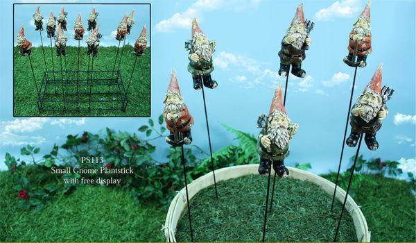 PS113 Small Gnome Plantsticks (24 PC SET)