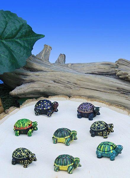 MT100 Mini Turtles (12 PC SET)