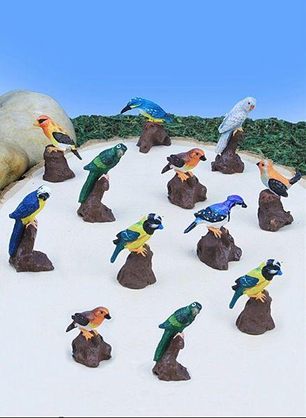 MBI100 Mini Birds (12 PC SET)