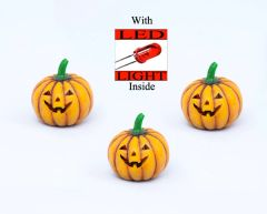Light Up Pumpkin with LED Light (12 PCS SET)