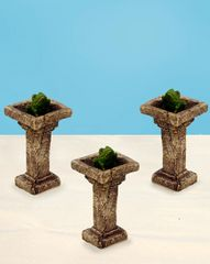 Birdbath with Frog (12 PCS SET)