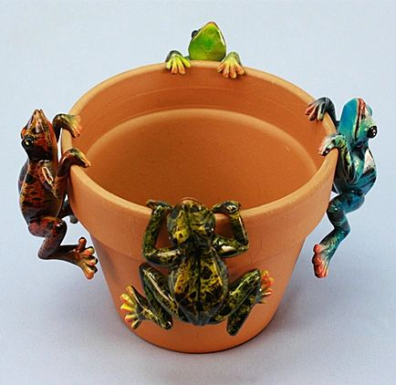 PH420 Md Multicolor Frog (12 PC SET)