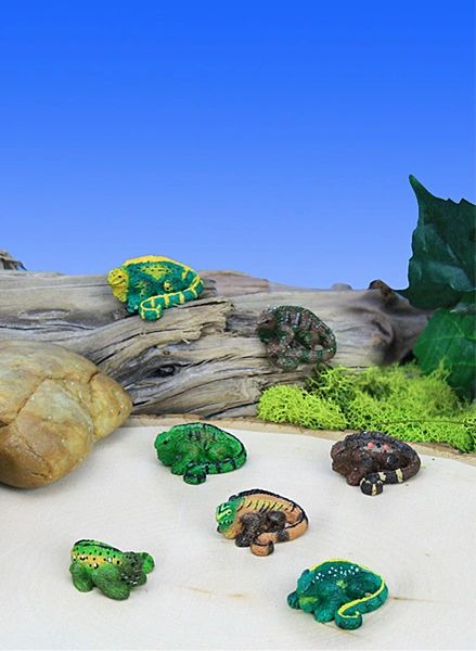 Mini Iguanas (12 PC SET)