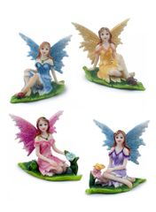 FA128 Fairy on Leaf (SET OF 12)