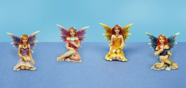 Painted Fairy with Diamond (12 PCS SET)