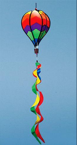 Hot Air Ballon Wind Spinner (12 PCS SET)