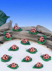 MLB100 Mini Ladybugs (12 PC SET)