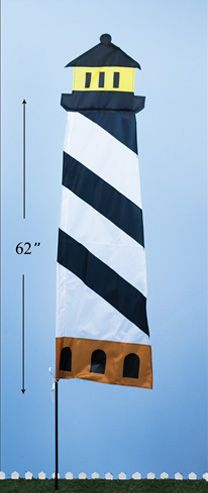 Lighthouse Flag Stake (12 PCS SET)