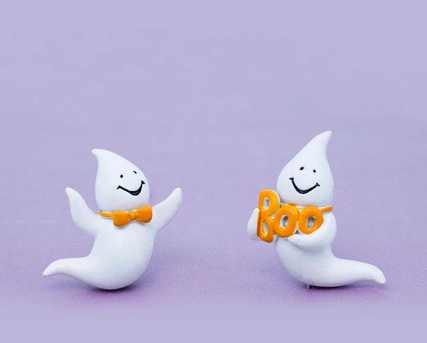 Smiling Boo Ghost (12 PCS SET)