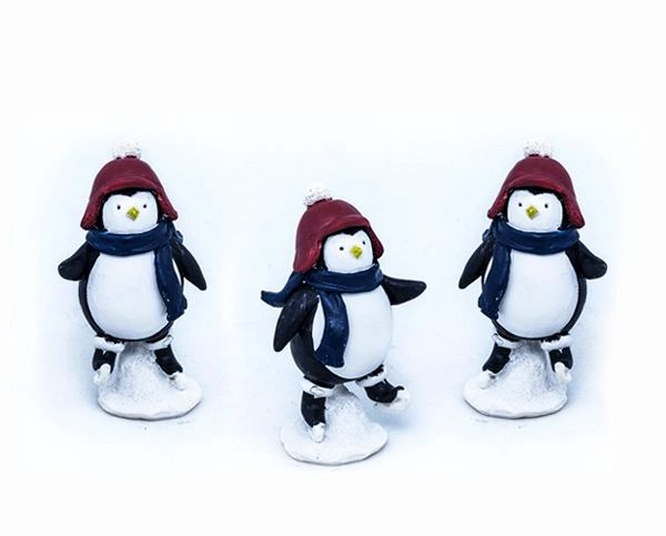 FA87 Skating Penguin (12 PCS SET)