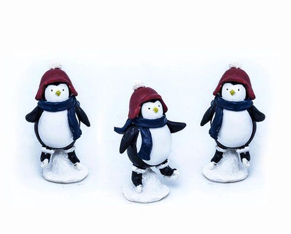 Skating Penguin (12 PCS SET)