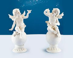 Angel Holding Fruit and Bird (6PCS SET)
