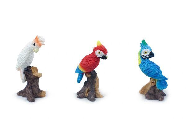 FA121 Min Parrots (12 PCS SET)