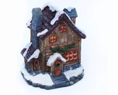 Christmas House with LED Light (12 PCS SET)