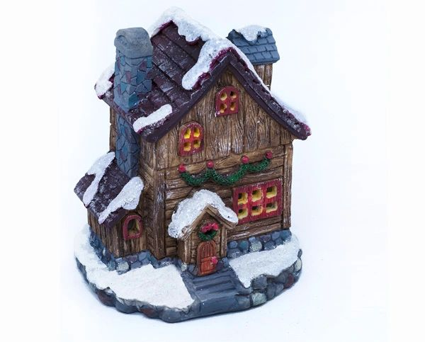 FA84 Christmas House with LED Light (12 PCS SET)