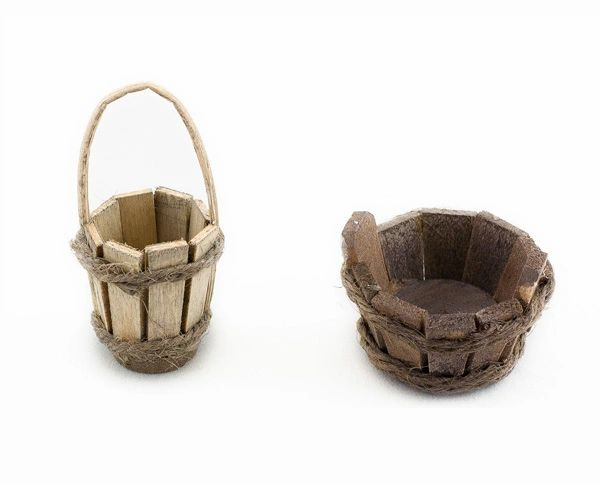 Wooden Bucket (12 PCS SET)