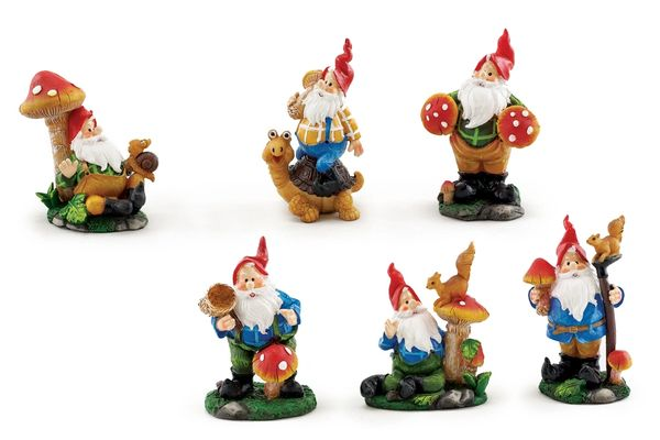FA58 Gnomes with Mushroom (12 pcs)