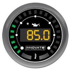 Innovate MTX Digital Oil Temperature & Pressure Gauge Kit (0-150psi)