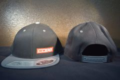 Black and grey Cobb Snapback