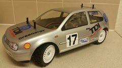 VW Golf MkIV Body Shell - 1:10 - Tamiya - Lexan