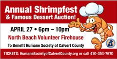 Shrimpfest Ticket $45