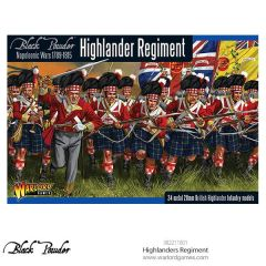 Warlord Games BLACK POWDER Highlanders Regiment
