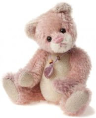 HALF PRICE! Charlie Bears Mini Mohair BALLETSHOE Keyring 13cm (Limited to 1200 Worldwide)